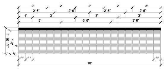 模压楼梯板标准片